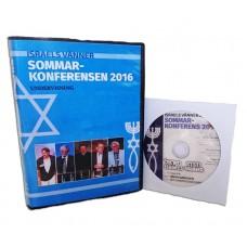DVD-inspelning från Sommarkonferensen 2016